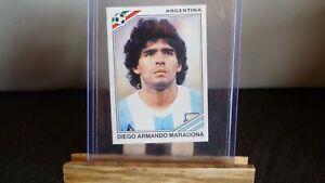 STICKER PANINI WORLD CUP STORY MEXICO 86 DIEGO MARADONA  ARGENTINE N°171 STAR