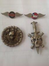 vintage motorcycle pin badges