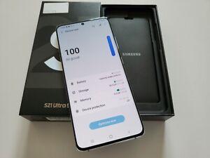 Samsung Galaxy S21 Ultra 5G - 512GB - Duos - Phantom Silver - Unlocked + VATINC