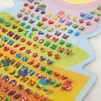 Kind Kristall Stick Ohrring Aufkleber Spielzeug Body Schmuck Geschenk Bag