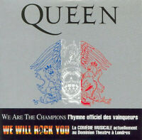 CD  Queen ‎–  We Are The Champions  Parlophone France 2002 Mercury May