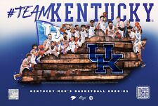 2020-21 KY University of Kentucky Wildcats Basketball No Schedule/Poster