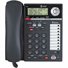 at t desktop phone corded home telephones for sale ebay rh ebay com AT&T Phone Model 993 AT&T Cell Phone Model Z221