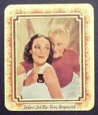 Dolores Del Rio Gene Raymond 1934 Garbaty Film Stars Series 2 Cigarette Card 245
