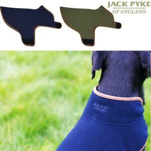 JACK PYKE FLEECE DOG COAT XXS-2XL VEST LOOP/HOOK FASTENING HUNTING BEATING