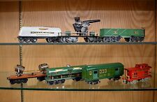 Group of 7 American Flyer O Gauge Experimental Freight Cars Borden, Cannon etc.