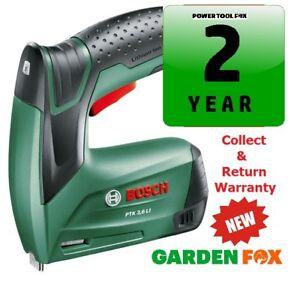 Bosch PTK 3,6 Li Cordless STAPLE GUN / TACKER 0603968170 3165140601610  .. .