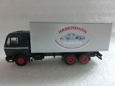1:87 Herpa LKW MB Habermann Modellautos Bremen (P23/AA)