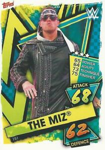 WWE TOPPS SLAM ATTAX 2021 THE MIZ SUPERSTAR CARD COMB P&P