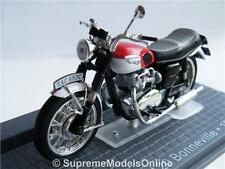 Triumph T120 Bonneville Moto 1967 Modelo 1/24th Escala Ixo Bicicleta Tipo y065j ^ * ^