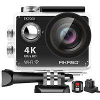 AKASO EK7000 4K Sport Action Camera Ultra HD Camcorder 12MP WiFi Waterproof