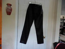 NOT YOUR DAUGHTERS JEANS LEATHER LOOKS BLACK JEANS SKINNY SZ 6 NWT/SALE 20%