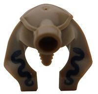 Lego 2 Stück Helm mit Schlangen Pharao Mumie Kopfbedeckung Hut 90462pb02