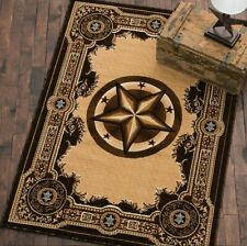 Western Lodge Lovers Rustic Area Rug- Fast Shipping From Dallas, TX