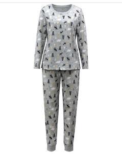 Matching Family PJs Women's Woodland Print Christmas Pajama Set Plus Size 2X NWT
