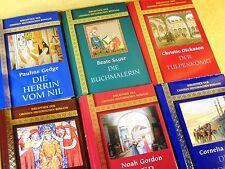 6 x Bibliothek der grossen historischen Romane im Konvolut - Paket Sammlung