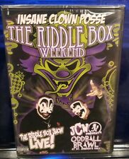 Insane Clown Posse - The Riddle Box Weekend 2 DVD Set SEALED JCW wwe wwf ecw icp