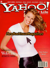 Yahoo! Internet Life 10/98,Niki Taylor,October 1998,NEW