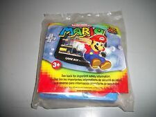 MARIO KART SUPER CIRCUIT NINTENDO WENDY'S KIDS MEAL TOY NEW/SEALED IN BAG 2002