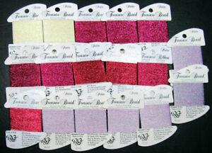 17xNeedlepoint/Embroidery THREAD R GALLERY Petit Treasure Brd metallic-mixd-NJ29