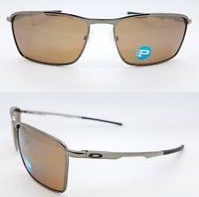 NEW Oakley CONDUCTOR 6 sunglasses Tungsten Iridium Polarized 4106-04 Square Wire