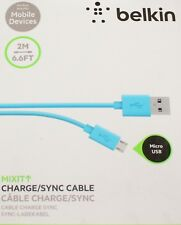 Belkin 2m Micro USB Cable fr Galaxy S7 S6 HTCNokia,Kindle,LG,Motorola,Tablet etc