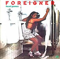 Foreigner ‎LP Head Games - Germany (VG/EX)