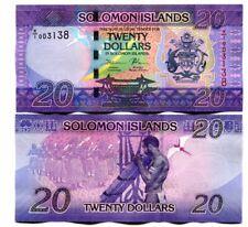 SOLOMON ISLANDS 20 DOLLARS ND(2017) P-34r UNC REPLACEMENT PREF. X
