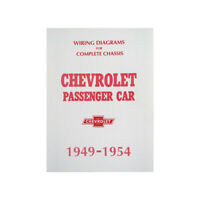 1949-1954 Chevy Wiring Diagram Manual Passenger Car 80 ...