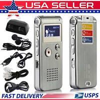 Digital Voice Recorder MIC Dictaphone Audio Sound Recorder Mini Small MP3 Player