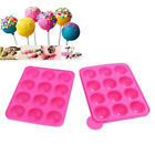 Lollipop Mould Pop Cake Mold Stick Mould Silicone Tray Cupcake Baking Party