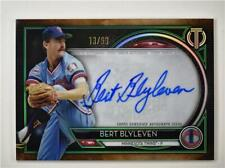 2020 Tribute Auto Green #TA-BB Bert Blyleven /99 - Minnesota Twins