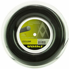 VOLKL CYCLONE TENNIS STRING - 1.30MM 16G - 200M REEL - BLACK - RRP £120