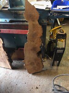 Burr Elm Slab Timber Woodturning table