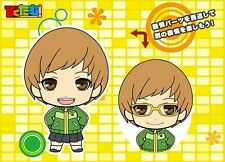 Persona 4 Piktam Girls Chie Rubber Phone Strap Anime Manga MINT