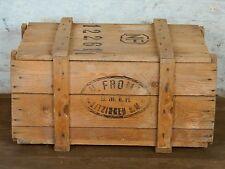 alte Holzkiste Kiste Couchtisch Weinkiste Truhe Vintage Kitzingen shabby chic