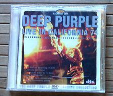 DEEP PURPLE / LIVE IN CALIFORNIA 74 - DVD (Italy 2011) SIGILLATO / SEALED