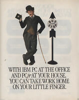"""ITHistory (1984)  IBM AD: """"With IBM PC At The Office And PCJr At Your House"""""""