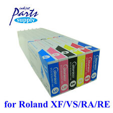 6pcs x 440ml Roland eco sol max Ink Cartridge for Roland BN20 FH740 XT VS640i