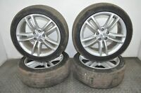 TELSA MODEL S 2014 RHD ALLOY WHEELS 8JX19 WITH TIRES 245.45R18