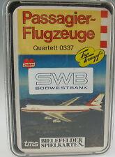 Quartett Passagier-Flugzeuge - Bielefelder Spielkarten 0337 - in SÜDWESTBANK Box