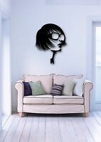 Wall Stickers Vinyl Decal Sexy Girl in Glasses Fashion Style ig565
