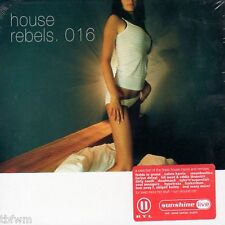 Sunshine Live - House Rebels 016 - CD NEUWARE OVP - HOUSE MINIMAL ELECTRO