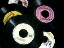 """(10)  7"""" RECORDS 60s to 80s (CONDITIONS I DO NOT CONSIDER EBAY FIRST CLASS)"""
