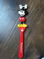 "Vintage 1970s Disneyland Mickey Mouse Back Scratcher Walt Disney Souvenir 15.5"""