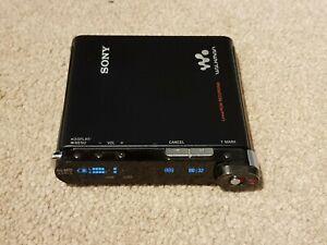 SONY MZ RH1 Hi MD Minidisc Player Recorder Bare Unit Bright Screen
