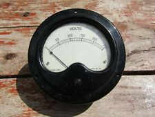 WW2 Era Electrical Instruments Co. Volts Meter Guage Bakelite Military