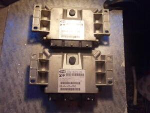 Peugeot Citroen C4 1.4 ECU IAW 6LP2.05 HW 9653979480 9659099180 Job Lot 2 Pieces