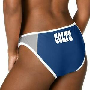Forever Collectibles Womens Indianapolis Colts Team Logo Swim Suit Bikini Bottom