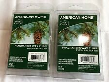 2 ~ Fresh Balsam Fir Wax Melts ~  American Home By YANKEE CANDLE